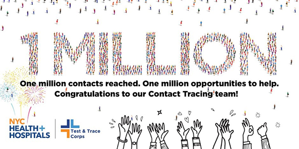 1 Million Close Contacts Through Trace Program