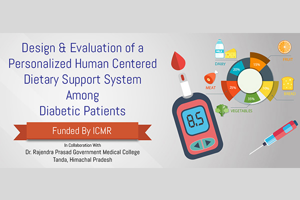 Ashish Joshi's Projects Design and Evaluation of a Personalized Human Centered Dietary Support System Among Diabetic Patients.