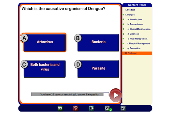 Ashish Joshi's Projects - Interactive bi-lingual Dengue Health Information Platform