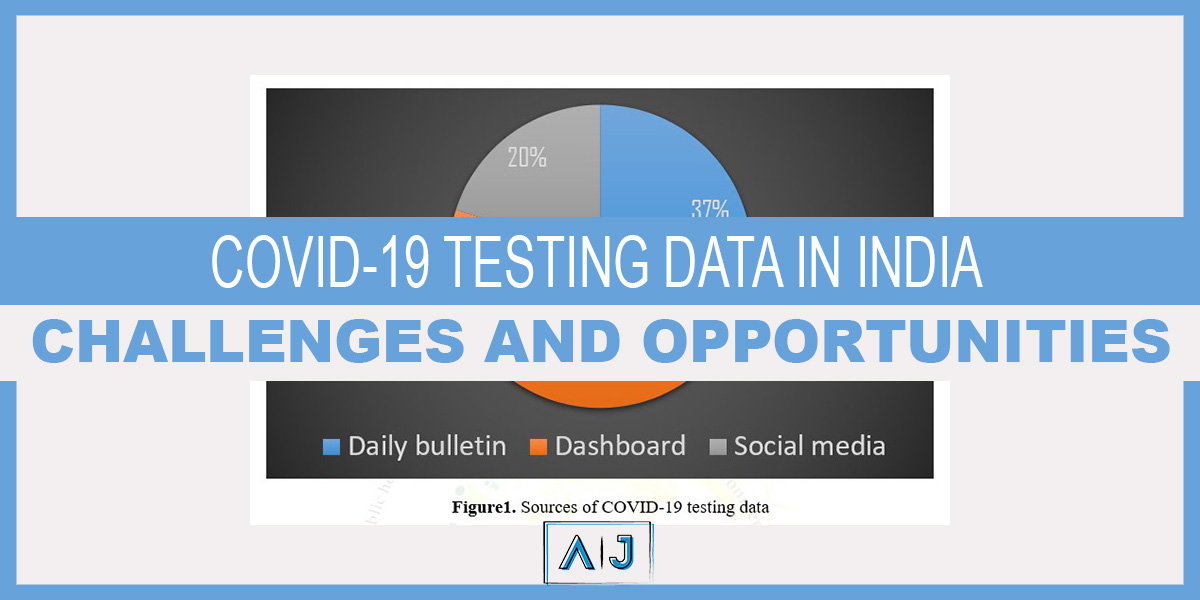 Covid-19 Testing data in India: Challenges and Opportunities