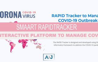 RAPID Tracker: An Interactive Platform to manage COVID-19 using SMAART Informatics framework